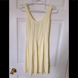 Forever 21 Light Yellow Dress | Size Small
